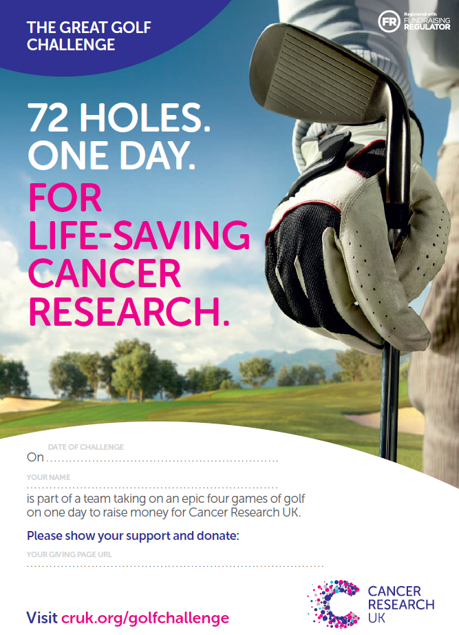 the great golf challege fundraising ideas