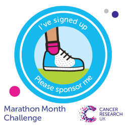 I've signed up - Marathon Month Challenge
