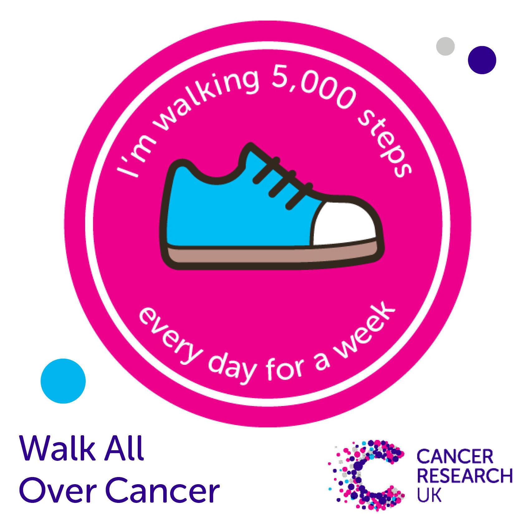 WAOC 5,000 steps a day.