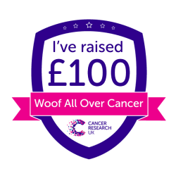 Woof All Over Cancer £100
