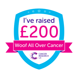 Woof All Over Cancer £200