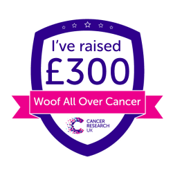 Woof All Over Cancer £300