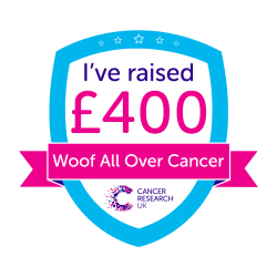 Woof All Over Cancer £400