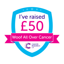 Woof All Over Cancer £50