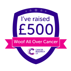 Woof All Over Cancer £500