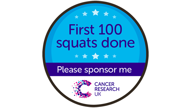 First 100 squats badge