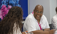 Cancer Insights Panel members Arshiya and Alfred