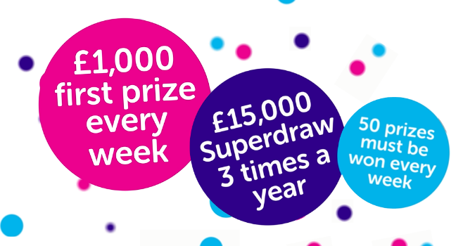 Cancer Research UK Weekly Lottery | Cancer Research UK