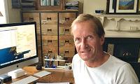 Online Panel member Guy at his desk
