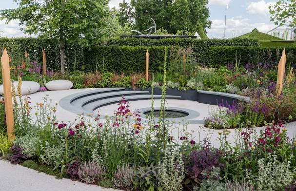 Cancer Research UK Legacy Garden at Hampton Court 2019