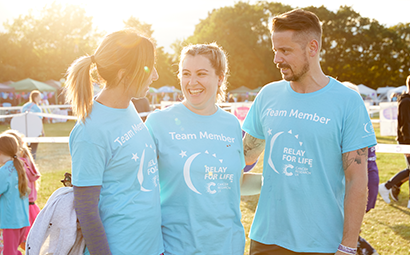 How to support the event Relay For Life South East