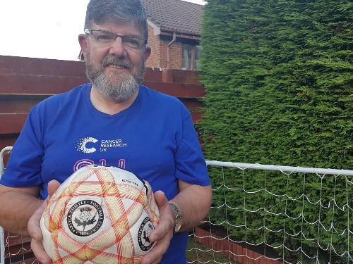 Ian Anderson back playing football