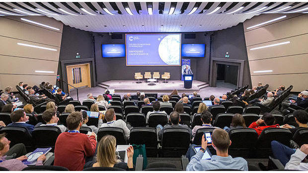 Iain Foulkes introducing the 2019 Innovation Summit