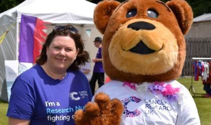 Karen Turner, a Senior Research Nurse in Birmingham