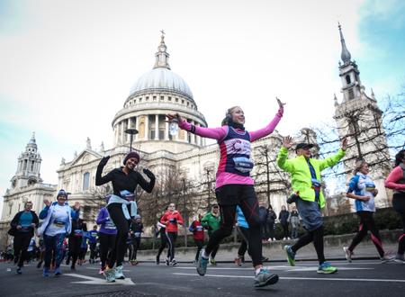 The Cancer Research UK London Winter Run 2020