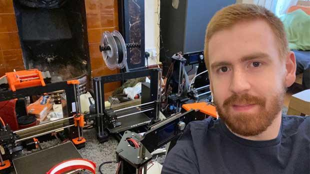 Marcel Gehrung 3D printing