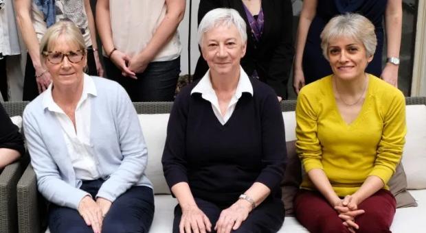 Mimi McCord and Maggie Blanks (patient advocates), Behnoush Abedi-Ardekani (IARC)
