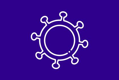Diagram of coronavirus