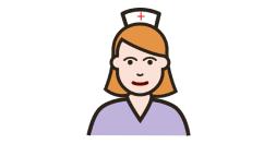Nurse illustration.