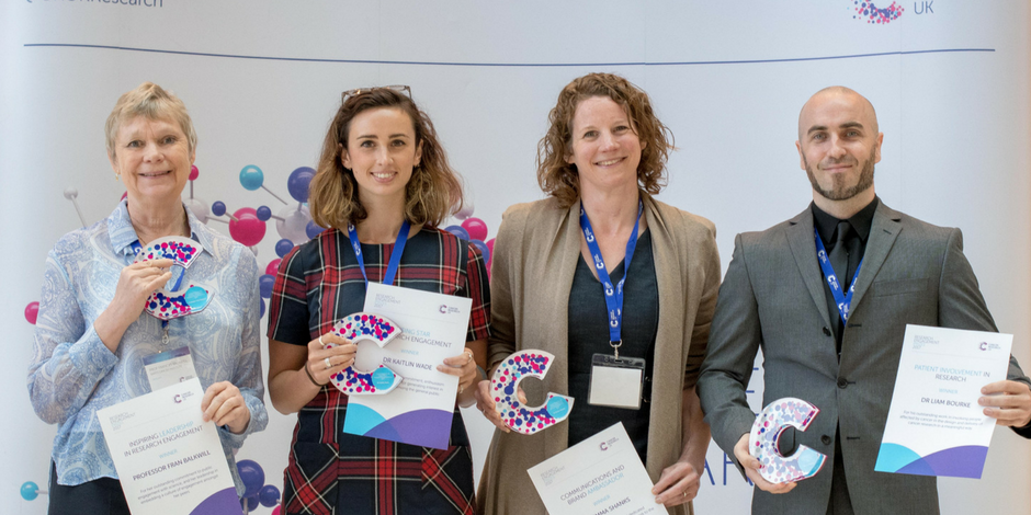2017 Cancer Research UK Engagement Prize winners