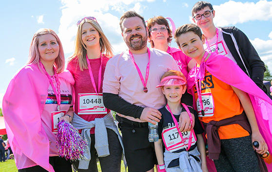 race for life runners