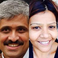 Lead applicants Ravi Kannan and Toral Gathani