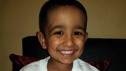 Rayaan who received a Cancer Research UK for Children & Young People Star Award