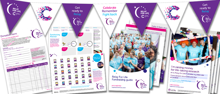 Relay For Life fundraising materials