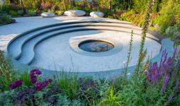 CRUK 'Pledge Pathway to Progress' 2019 Garden water feature