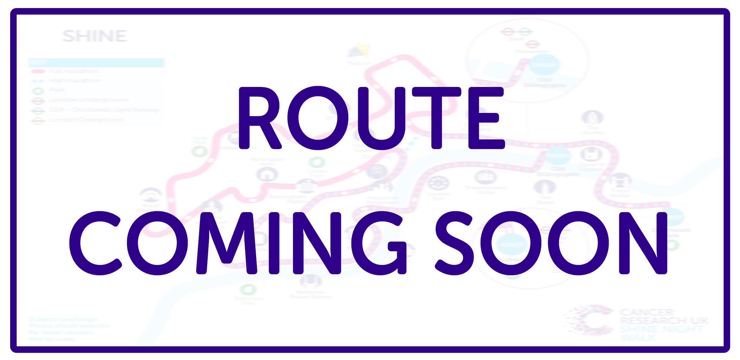 Route coming soon