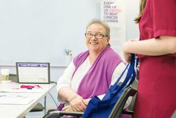 Margaret Breast Cancer Patient