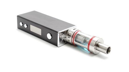 Photo of an e-cigarette