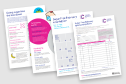 Sugar Free February materials 2020