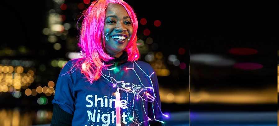 Shine Night Walk Participant