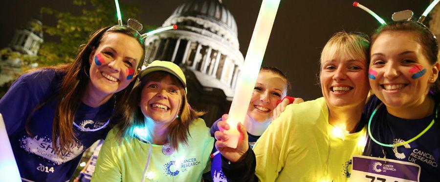 Shine Night Walk volunteers