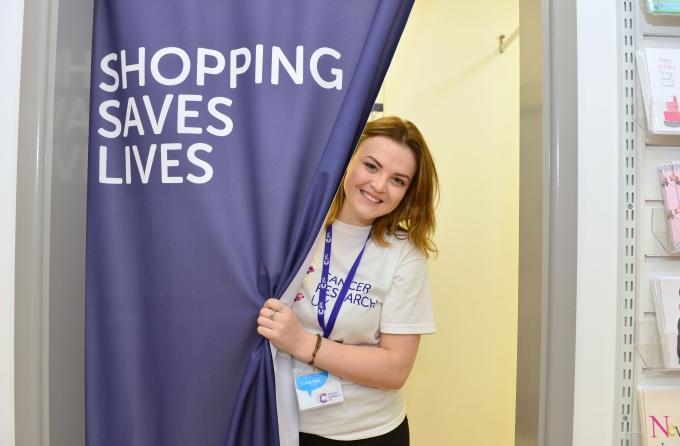 Shop volunteer