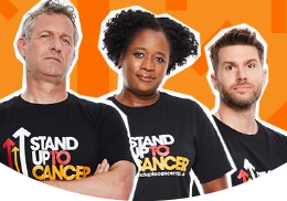 Stand up to Cancer promotion