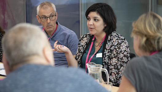 people affected by cancer sharing views