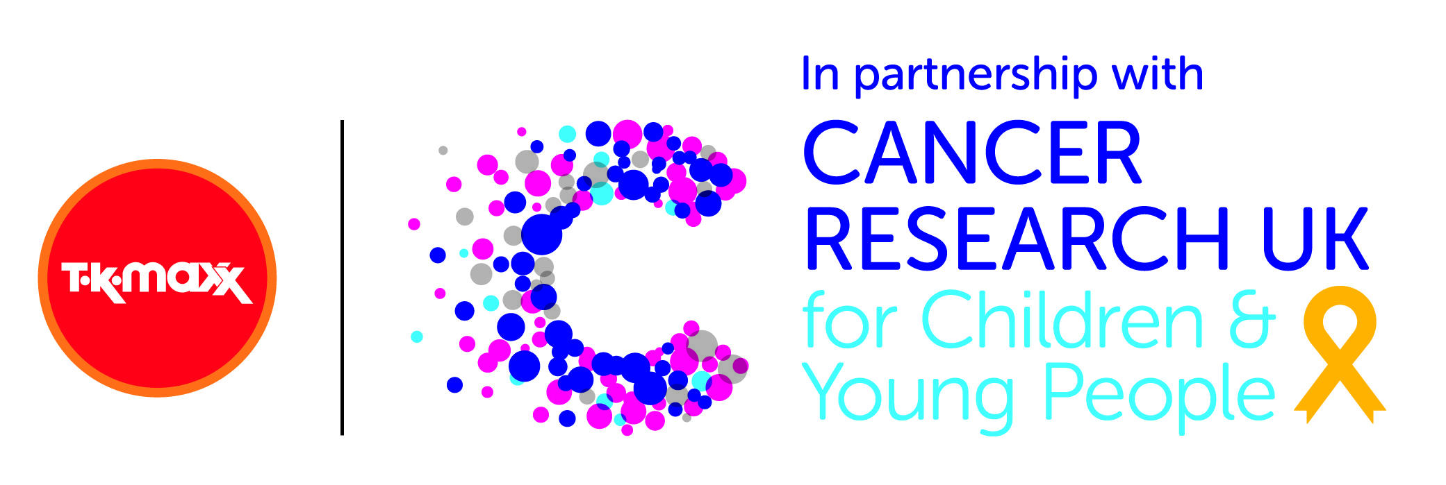 TK Maxx supporting Cancer Research UK for Children & Young People