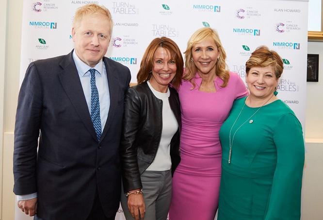 Tania Bryer, Boris Johnson
