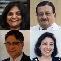 Lead applicants Usha Menon, Ranjit Manchanda, SVS Deo and Nitya Wadhwa