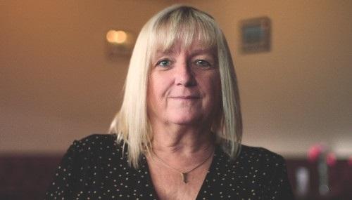 Val, a pledger from Birmingham