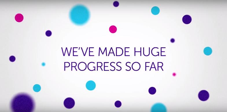 We've made huge progress so far