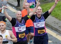 London Winter Run characters