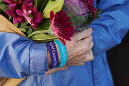 Holding hands on World Cancer Day