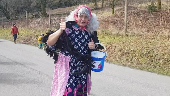 grandma run