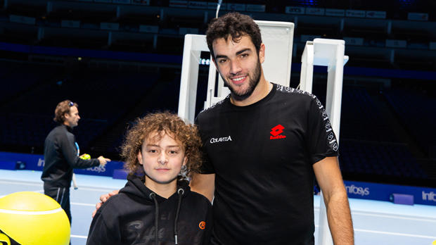 Matteo Berrettini and Darwin Hutchinson