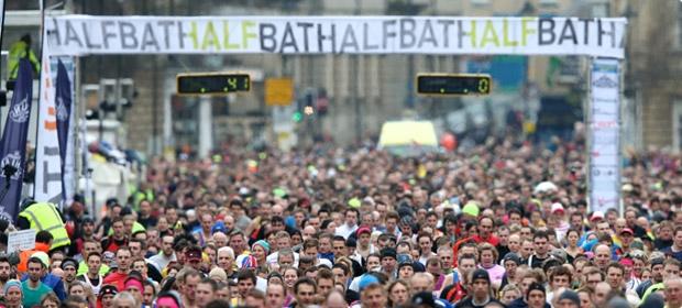 Bath Half Marathon (photo by Anna Barclay and Matt Cardy)