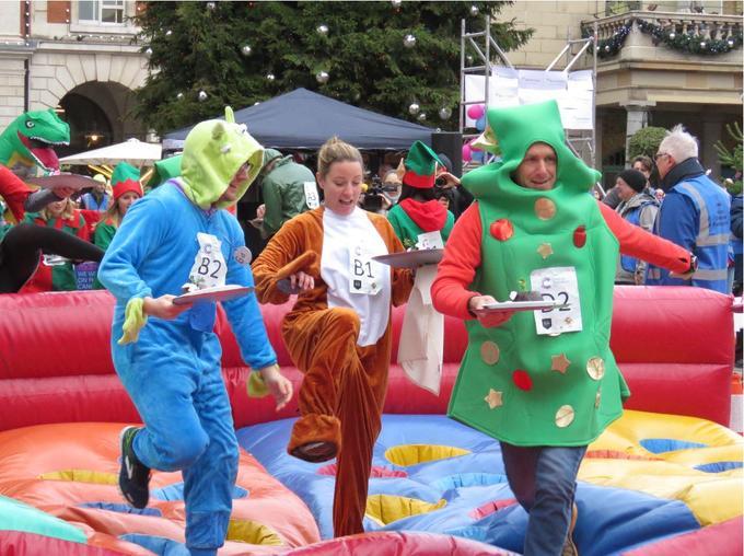Pudding Race
