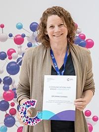Dr Emma Shanks, Communications and Brand Ambassador Prize